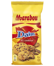 Печенье Marabou Daim Cookies с кусочками карамели 184 гр.