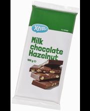 Молочный шоколад X-tra с фундуком 100гр
