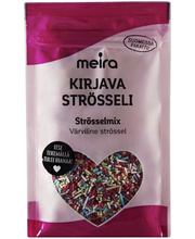Украшения для выпечки Meira Kirjava strösseli (палочки) 55гр.