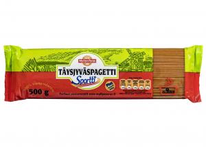 Спагетти из муки сорго Myllyn Paras Sportti Täysjyväspagetti 500гр.
