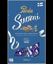 Шоколадные конфеты Panda Suomi (черника) 250гр.