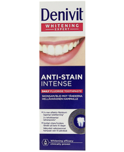 Зубная паста Denivit отбеливающая Whitening expert anti-stain intense 50мл.