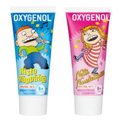 Детская зубная паста оxygenol Risto Räppääjä 6+ 50мл.
