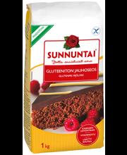 Мучная безглютеновая смесь для выпечки Sunnuntai  gluteeniton jauhoseos 1 кг