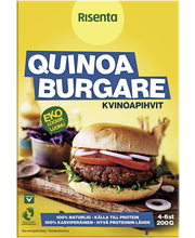 Вегетарианские бургеры Luomu Kvinoapihvit  Risenta 200гр