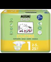 Подгузники Muumi Baby Starters 1, 2-5кг  25шт