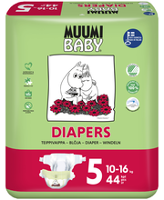 Подгузники Muumi Baby Diapers 5, 10-16кг  44шт