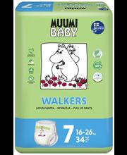 Подгузники-трусики Muumi Baby Walkers 7, 16-26кг 34шт