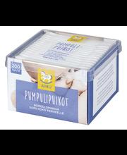 Детские ватные палочки Ainu  Pumpulipuikko 200 шт