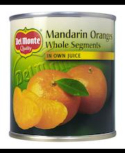 Мандарины в собственном соку  Del Monte 298гр