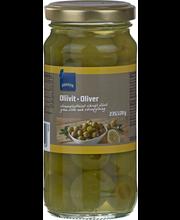 Оливки зеленые фаршированные лимоном Rainbow 235гр