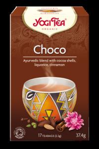 Чай травяной пряный утешительный Yogitea Choco органический 17пак.
