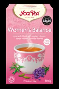 Чай травяной Женский баланс Yogitea Women's Balance 17пак.