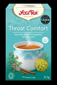 Чай травяной успокаивающий, согревающий Yogitea Throat Comfort 17пак.
