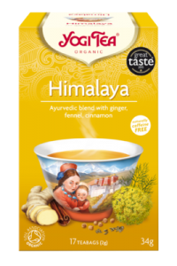 Чай травяной медитативный, гармоничный Yogitea Himalaya 17пак.