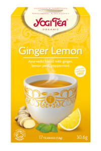 Чай травяной лимон и имбирь Yogitea Ginger Lemon 17пак.