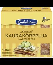 Хлебцы овсяные OULULAINEN Kaurakorppuja 180гр