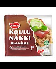 Цельнозерновые ржаные хлебцы (88%) VAASAN KOULUNÄKKI Maukas 230гр