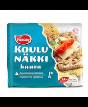 Хлебцы  цельнозерновые овес и рожь VAASAN  KOULUNÄKKI Kaura 220гр