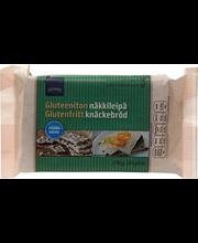 Хлебцы овсяные без глютена Rainbow Gluteeniton näkkileipä kaura 170гр