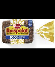 Хлеб ржаной цельнозерновой VAASAN RUISPALAT täysjyväruisleipä 330гр
