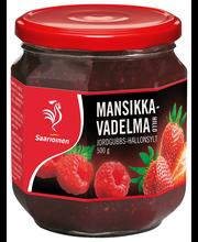 Варенье малина-клубника Saarioinen 500гр
