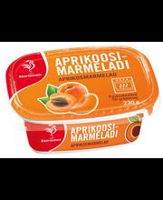 Мармелад абрикосовый Saarioinen  230гр