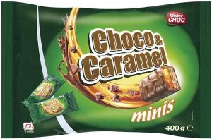"""Мини-батончики Mister Choc """"Шоколад и карамель"""" 350гр"""