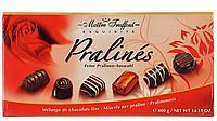 Конфеты Maitre Truffout Assorted Pralines Red 400гр