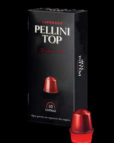 Кофе в капсулах PELLINI TOP ARABICA 100%  10шт.