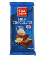Шоколад молочный Finn Carre Milk Chocolate 100 гр