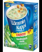 Луковый суп с сухариками Lämmin Kuppi Kevätsipulikeitto 3 пакетика по 23гр