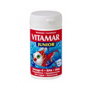 Омега-3 рыбий жир в капсулах для детей Vitamar Junior 60кап.