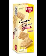 Печенье с ванильной начинкой Schär Custard Creams без глютена 125гр