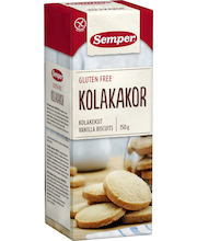Ванильное песочное печенье без глютена Semper Kolakeksit 150гр