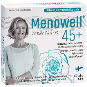 Комплекс для женщин Menowell  45+, 60 таблеток