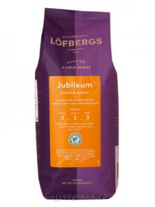 Кофе в зернах Löfbergs Lila Jubileum 400гр