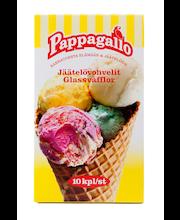 Вафельные рожки для мороженого Pappagallo jäätelövohvel 10шт