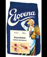 Печенье овсяное с белым шоколадом и малиной Elovena 230гр