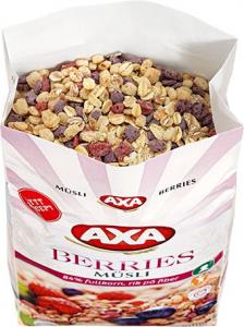 Мюсли с ягодами AXA Müsli Berries 600гр