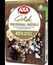 Мюсли AXA Müsli Gold Original 750гр