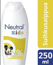 Детский гипоаллергенный гель для душа Neutral Kids suihkusaippua 250мл