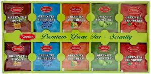 Подарочный набор зеленого чая Victorian Prenium green Tea- Serenity 50пак.