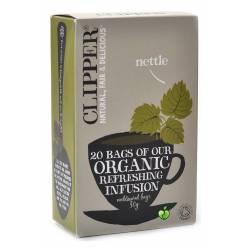Чай Clipper органический травяной с крапивой Organic Cleansing Infusion 20пак.
