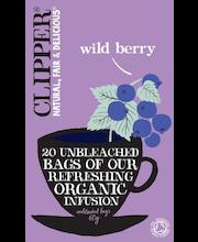 Чай Clipper органический фруктово-травяной c черникой Luomu Wild Berry  20пак.