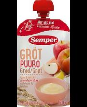 Каша Semper Puuro (яблоко, персик) с 6 месяцев 120 гр