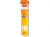 Поливитамины Multi-Vitamin Optisana шипучие таблетки 20шт.