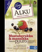 Каша овсяная с  ягодами FAZER Alku 400гр