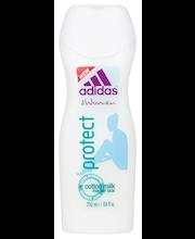 """Гель для душа женский """"Хлопок"""" Adidas Protect suihkugeeli 250мл"""