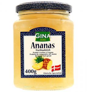 Джем Ананасовый Gina Ananas 400гр